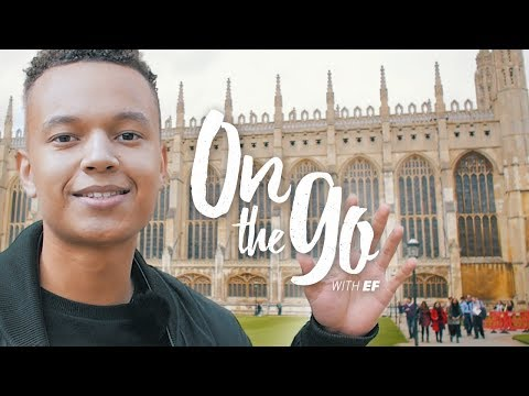 Liam explores Cambridge, UK – On the go with EF #69
