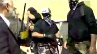 Canadian Police Caught Trying to Start  a Riot @ Montebello 2007