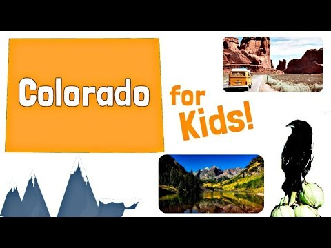 Colorado for Kids | US States Learning Video