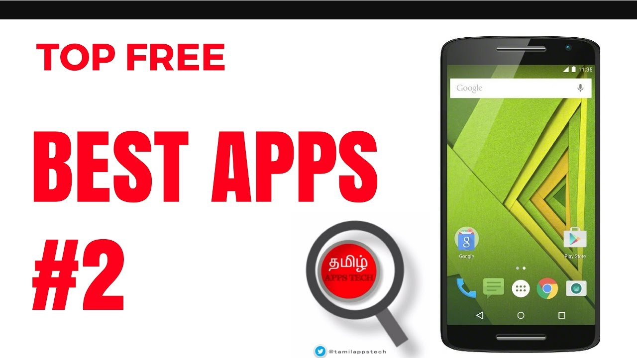 Top Free Best Apps #2│[தமிழ்] │TAMIL APPS TECH