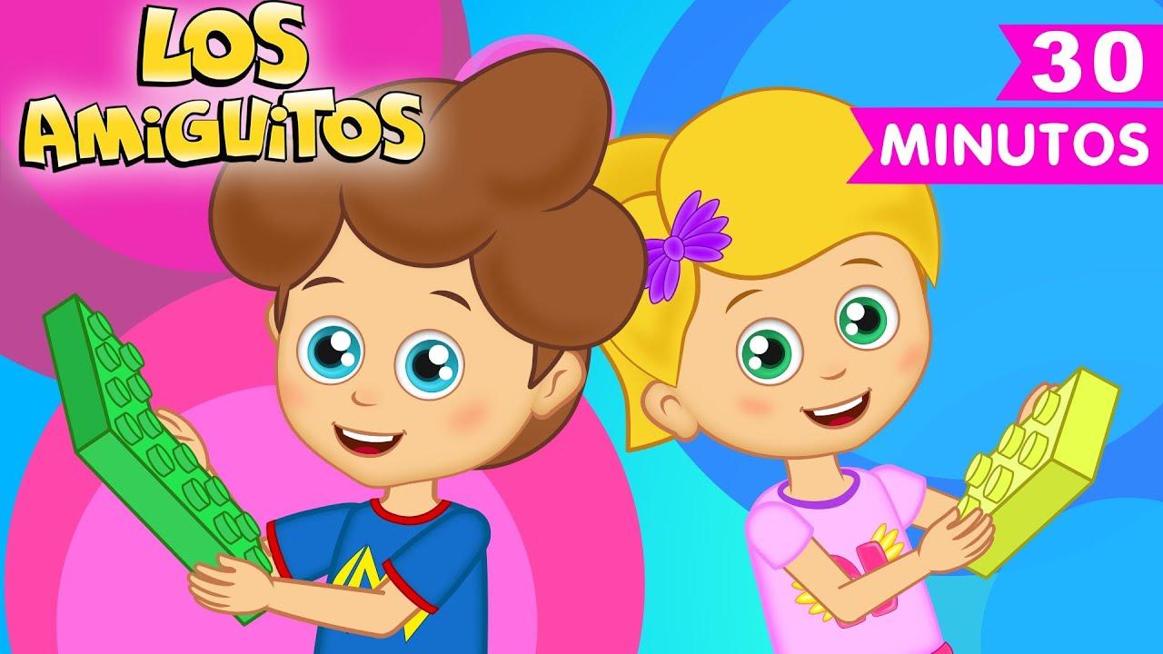 Juguetes canción infantil colección | Los Amiguitos Canciones Infantiles