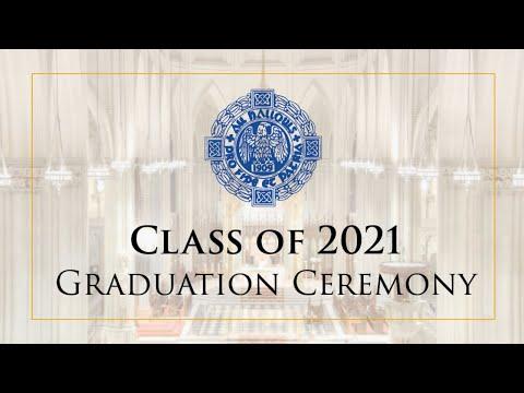 All Hallows High School Graduation Ceremony - Class of 2021