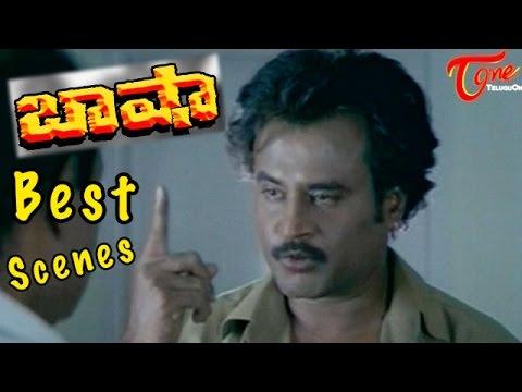 Baasha  Movie    College Principal Drama Scene    Superstar Rajinikanth