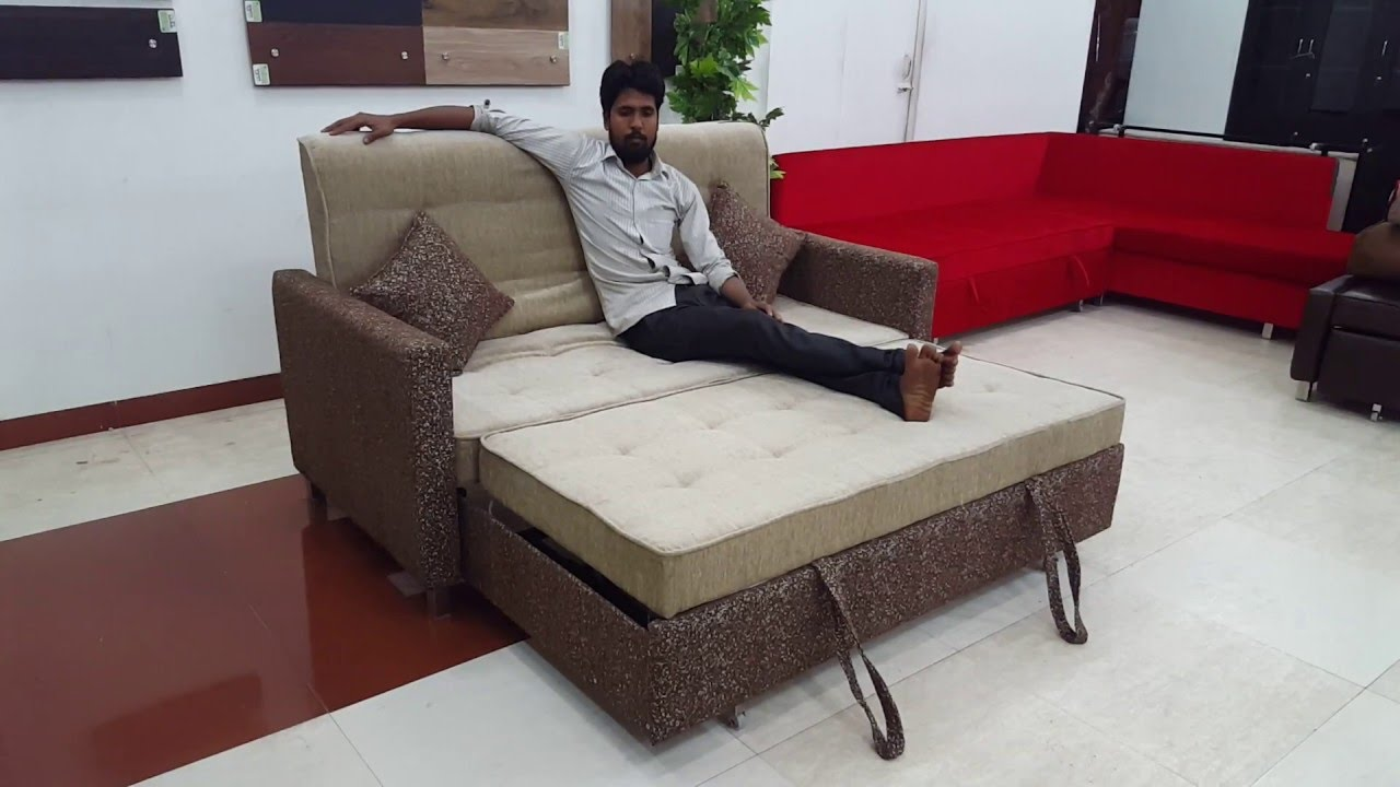 Sofa Cum Beds L Shape Sofa Cum Bed Luxury Sofas Youtube
