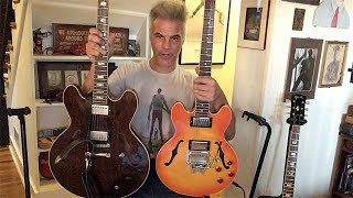 Gibson ES-335, ES-336, ES-355 & ES-150 Compared by John Bohlinger - Iso Lab