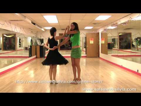 Salsa Video Lesson 37: The Hand Toss Turn Pattern