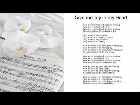 Give Me Joy in My Heart (Sing Hosanna, w/ Lyrics)