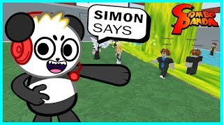 Roblox Super Simon Says Let's Play with Combo Panda