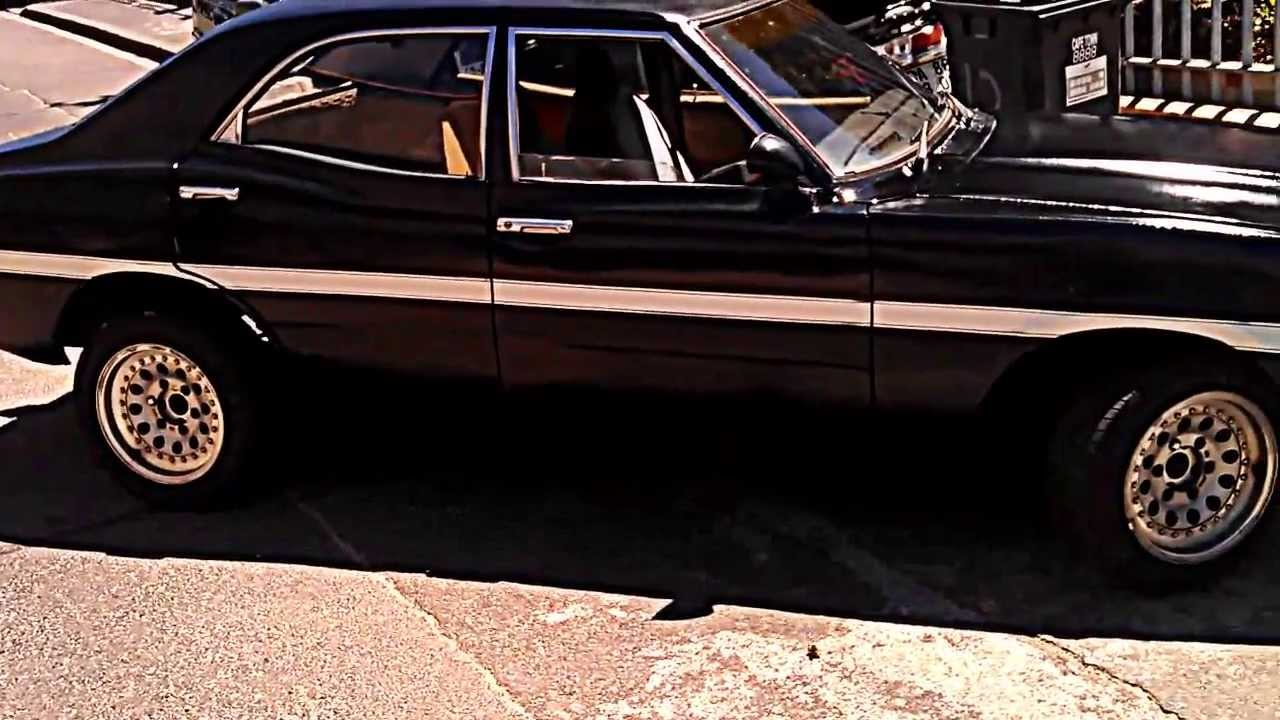 Hot Street 1974 Ford Cortina MK3 1600 GT walk around - YouTube