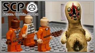 LEGO SCP-173 / LEGO Stop motion, Animation