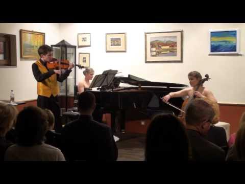 D. SHOSTAKOVICH: Prelude for violin, cello & piano