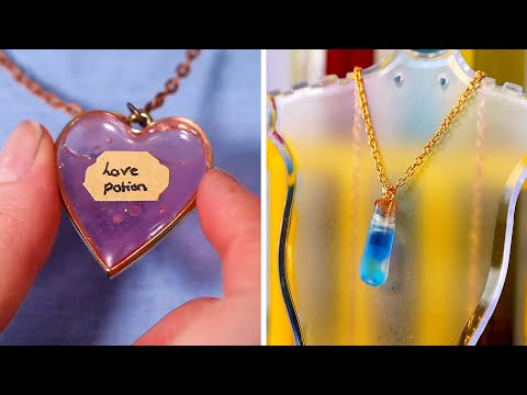20 Best Resin Crafts And DIY Jewelry From 2020