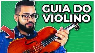 VIOLINO PARA INICIANTES | GUIA COMPLETO | Como tocar violino? | Aula de Violino Online