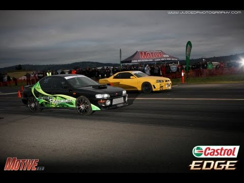 History of Motive GT R Challenge and Drag Battle   Cootamundra Airport