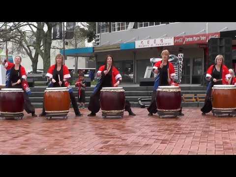 Matariki - Wai Taiko Drummers, Hamilton NZ