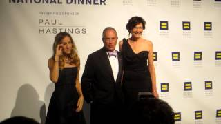 Sarah Jessica Parker Sex and the City, Michael Bloomberg, Diana Taylor, at the HRC National Dinner