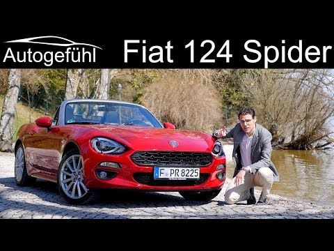 An affordable convertible? Cabriolet season with the Fiat 124 Spider FULL REVIEW - Autogefühl