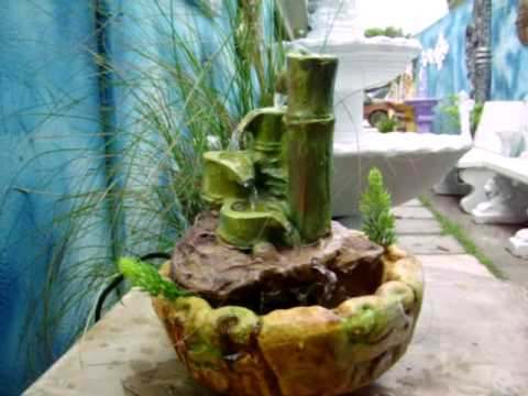 Peque as fuentes feng shui youtube - Fuentes pequenas para jardin ...