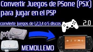Convertir Juegos de PSX (PSone) para  PSP