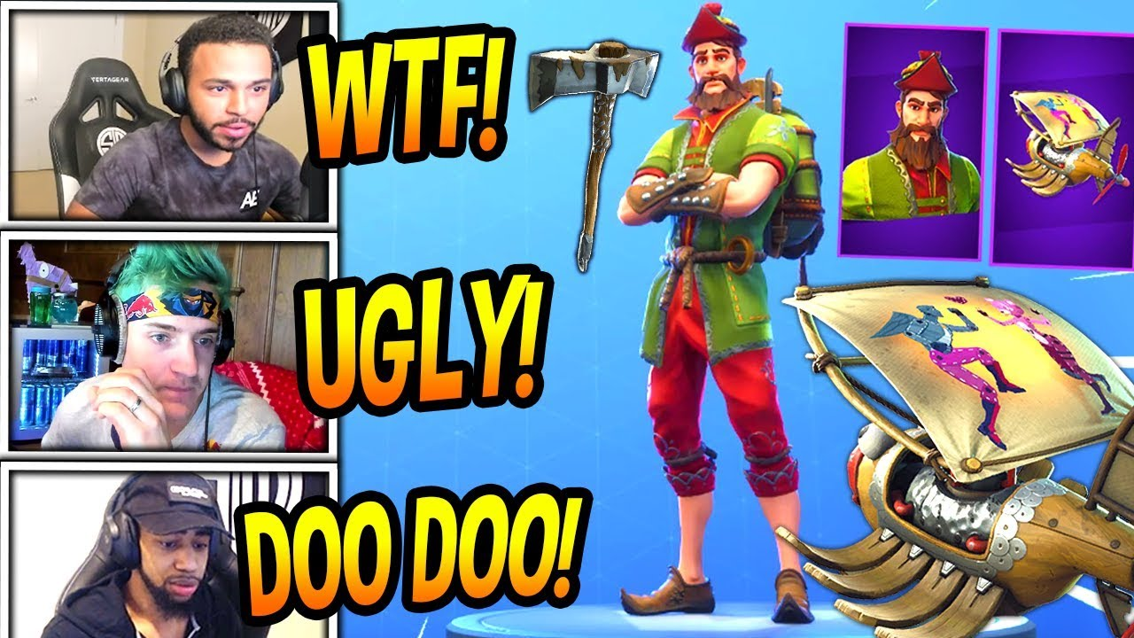 streamers-react-to-new-hacivat-skin-epic-shadow-puppet-glider-fortnite-funny-moments