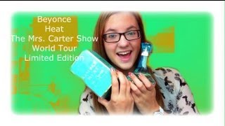 Heat The Mrs Carter Show World Tour Limited Edition By Beyoncé Perfume Review♡