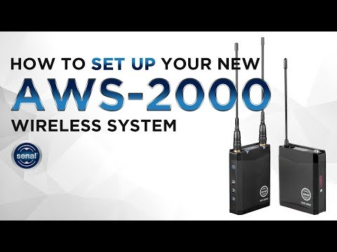 How to set up your new AWS-2000 wireless system