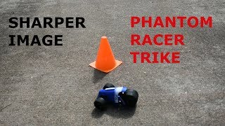 Sharper Image Phantom Racer Trike RC Car