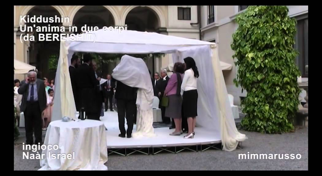 Matrimonio In Ebraico : Ebrei kiddushin matrimonio youtube