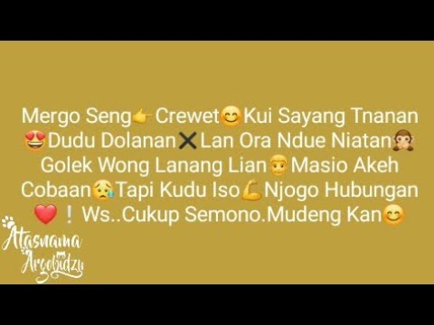 Kumpulan Caption Jowo Buat Status #55