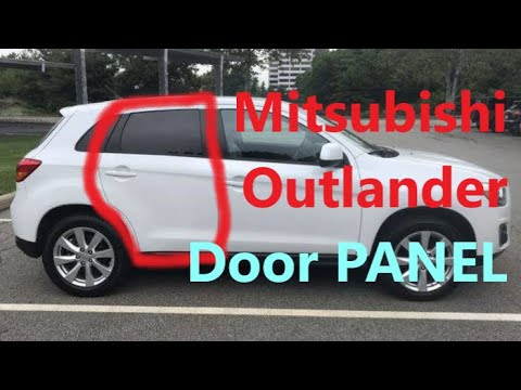 How to Remove REAR DOOR Panel on Mitsubishi Outlander 2010 2020