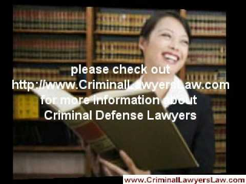 Criminal Defense Lawyers, Dui Attorneys