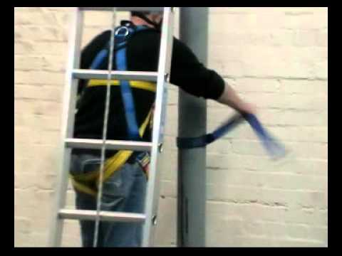 Ladder Safety Training Using Pole Vertical Lifeline System