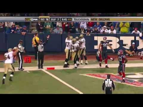 Pierre Thomas Week 3 TD Run