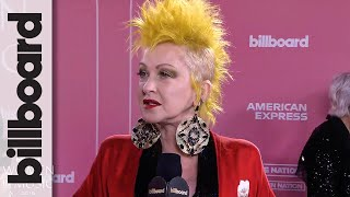 """Cyndi Lauper on Billie Eilish's """"Stunning"""" Voice & What Advice She'd Give Her 