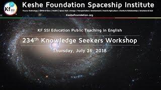 234th Knowledge Seekers Workshop - July 26, 2018