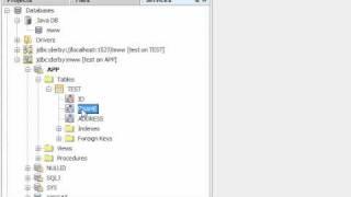 Java Desktop Database Application