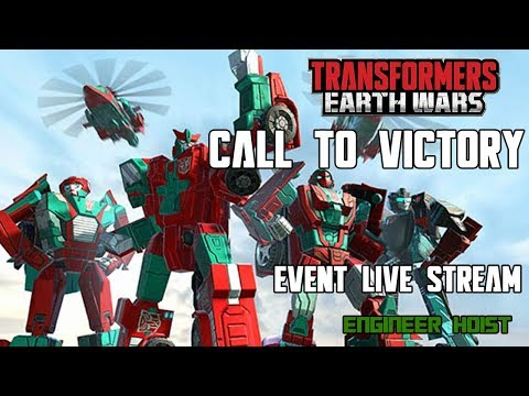 🔴NEWS: Transformers: Earth Wars - Call To Victory Event