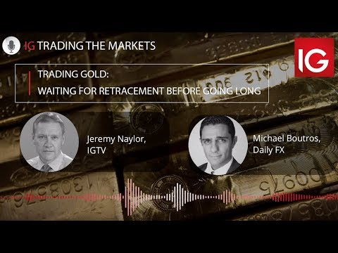 Trading gold: Waiting for retracement before going long | Trading the markets