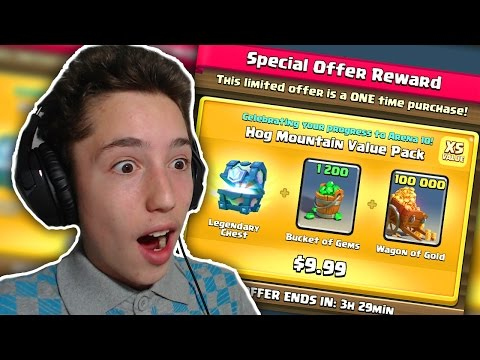 NOVA LEGENDARNA IZ CROWN CHESTA + SPECIAL OFFER! | Clash Royale