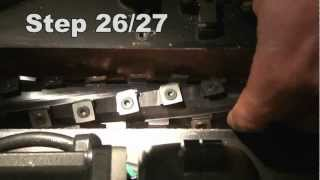 How To Install A Shelix Cutterhead In The Dewalt Dw735 Planer