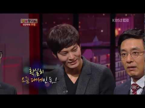 【Win Win 121113】 Joo Won's entrance & Dance