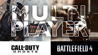 Battlefield 4 versus Call of Duty: Ghosts   Multiplayer Technik Test