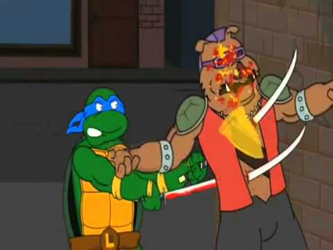 Черепашки ниндзя используют оружие фильм с джеки чаном чудо