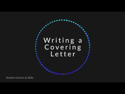 Видео Ending a covering letter