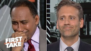 'Max got me on this one' - Stephen A. can't defend LeBron over Kawhi | First Take
