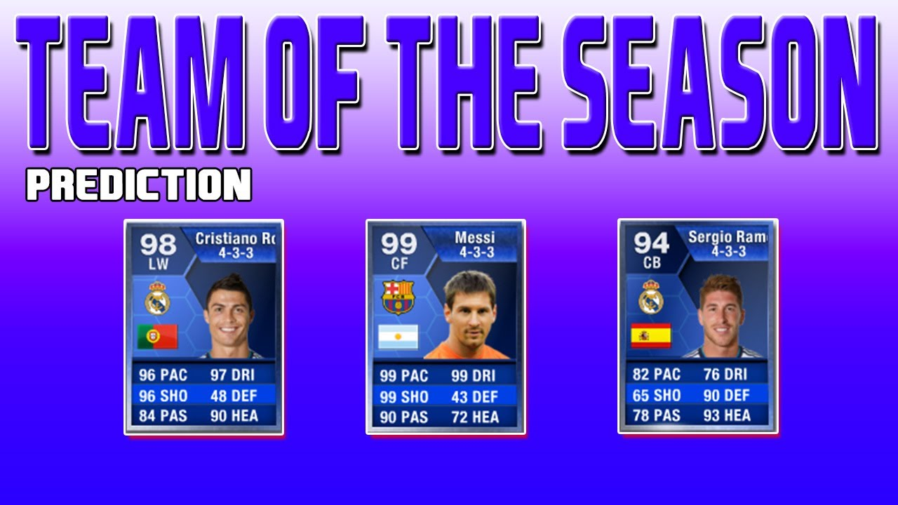 FIFA 13 Ultimate Team - TEAM OF THE SEASON - BBVA ...  Fifa 13 Team Of The Season