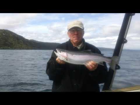 Trout fishing Lake Taupo NZ