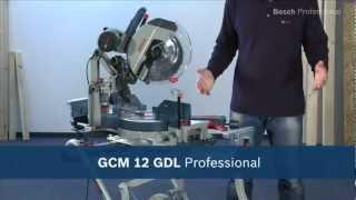 Bosch GCM 12 GDL - Gönye Kesme Makinesi 2000 Watt
