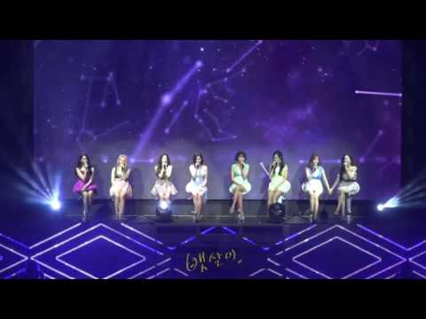 170805 SNSD  Into the New World Ballad at Holiday to Remember Full cam