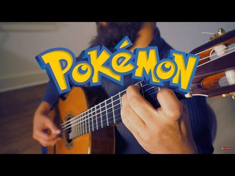 Pokemon: Ecruteak City For Classical Guitar